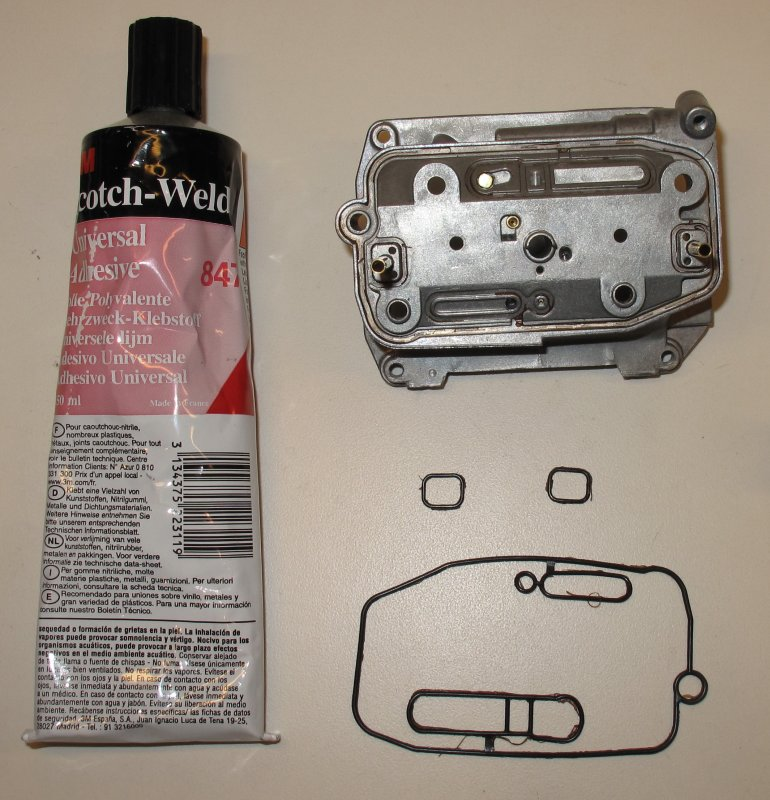 3M Scotch Weld 847 KTM Recommended Product to Seal the Mid
