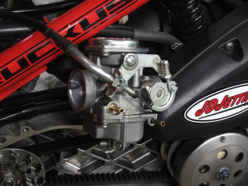 Ruckus Stock Carb - JD Jetting