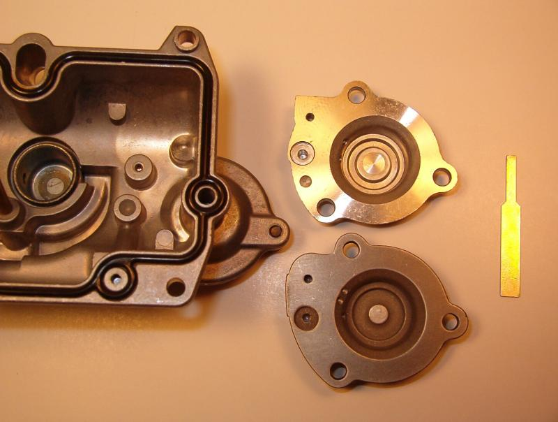 FCR Carb Accelerator Pump Covers and Pump Timing Linkage